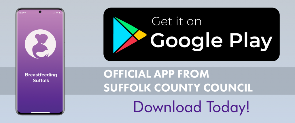 Breastfeeding Suffolk - App Buttons_Android